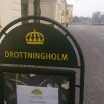 Fast visit at Drottningholms castle where the king and queen lives.